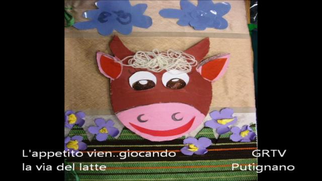 Progetto GAL: l'appetito vien giocando..le vie del latte