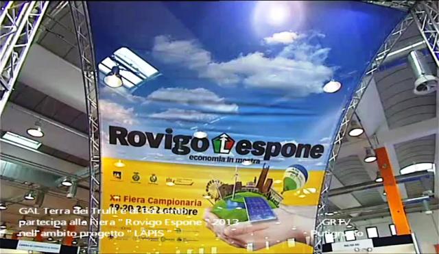 """GAL Terra dei Trulli e di Barsento partecipa alla Fiera """" Rovigo Espone """" 2013"""