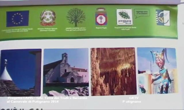 Progetto LAPIS GAL Terra dei Trulli e Barsento al Carnevale di Putignano