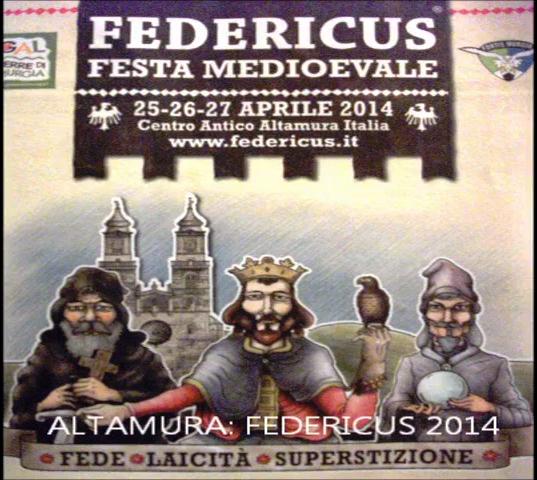 Progetto LAPIS- FEDERICUS Altamura 25.26.27.Aprile 2014