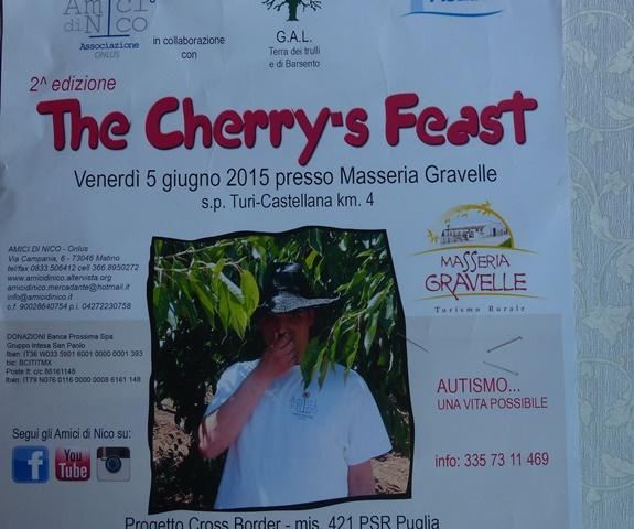 GAL Terra dei Trulli e Barsento:THE CHERRY'S FEAST 2015